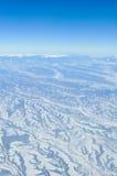 Ansicht von einem Flugzeug Lizenzfreie Stockfotografie