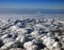 Ansicht von einem Flugzeug Lizenzfreie Stockbilder