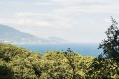 Ansicht von einem Hügel Lizenzfreies Stockfoto