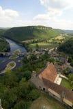 Ansicht von einem Schloss Lizenzfreie Stockbilder