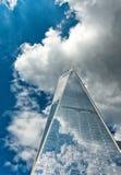 Ansicht von einem World Trade Center, New York Stockfotos