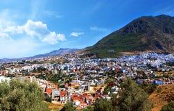 Ansicht von einer der schönsten Städte und der typischen Landschaft stockfoto
