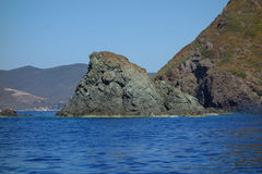 Ansicht von Elba Island Lizenzfreies Stockfoto