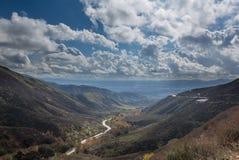 Ansicht von Felge Sans Bernadino der Weltdatenbahn Lizenzfreie Stockfotografie