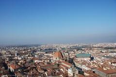 Ansicht von Florenz Stockbild
