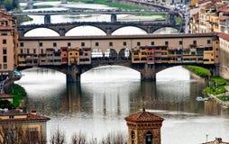 Ansicht von Florenz, Italien Lizenzfreies Stockbild
