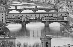 Ansicht von Florenz, Italien Lizenzfreies Stockfoto