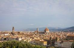 Ansicht von Florenz Italien Lizenzfreies Stockbild