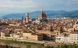 Ansicht von Florenz, Italien Lizenzfreie Stockfotos