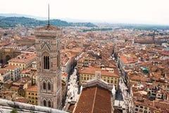 Ansicht von Florenz, Italien Lizenzfreie Stockbilder