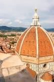 Ansicht von Florenz, Italien Stockbild