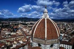 Ansicht von Florenz und von Duomo Lizenzfreie Stockfotografie