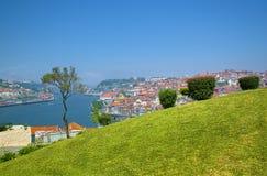Ansicht von Fluss Duero Lizenzfreie Stockbilder