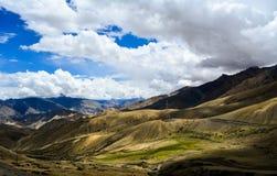 Ansicht von Fotula-Spitze in Kaschmir Indien lizenzfreies stockbild