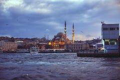 Ansicht von Galata in Istanbul Stockfotografie