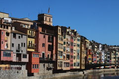 Ansicht von Girona - Spanien Lizenzfreies Stockfoto