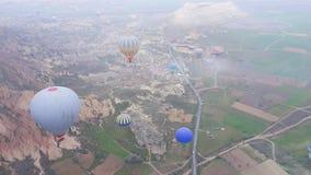 Ansicht von goreme, cappadocia Lizenzfreie Stockfotografie