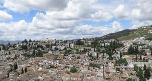 Ansicht von Granada, Spanien Lizenzfreie Stockbilder