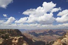 Ansicht von Grand Canyon von der Südfelge Lizenzfreies Stockfoto