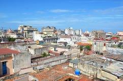 Ansicht von Havana-vieja - alte Stadt, Kuba Lizenzfreie Stockfotografie