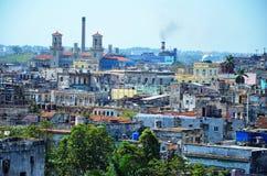 Ansicht von Havana-vieja - alte Stadt, Kuba Stockbilder