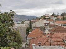Ansicht von Herceg Novi, Montenegro Lizenzfreie Stockbilder