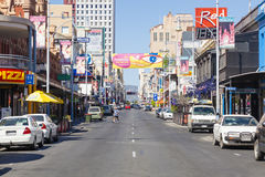 Ansicht von Hindley-Straße in Adelaide, Süd Stockfoto