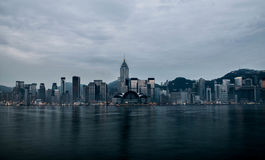 Ansicht von Hong Kong Stockbilder
