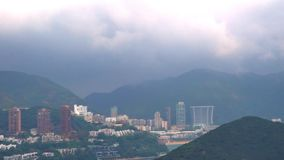 Ansicht von Hong Kong Luxury Condominium, Hong Kong stock footage