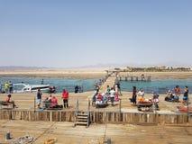 Ansicht von Hurghada stockfotos