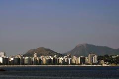 Ansicht von Icarai in Nitero lizenzfreies stockfoto