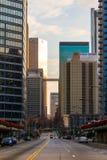 Ansicht von im Stadtzentrum gelegenem Atlanta, USA Lizenzfreies Stockfoto
