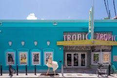 Ansicht von im Stadtzentrum gelegenem Key West, Florida Lizenzfreie Stockbilder