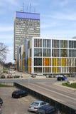 Ansicht von im Stadtzentrum gelegenem Riga, Lettland Lizenzfreies Stockbild