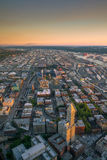 Ansicht von im Stadtzentrum gelegenen Seattle-Skylinen Stockbilder