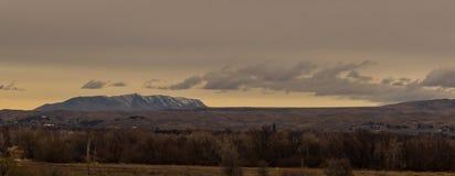 Ansicht von Indianerin Butte von Boise Idaho Stockfoto