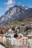 Ansicht von Innsbruck, Österreich lizenzfreie stockfotografie