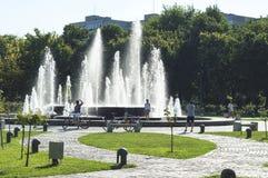 Ansicht von IOR-Park an einem Sonntag Nachmittag lizenzfreie stockfotos