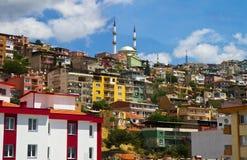 Ansicht von Izmir-Truthahn Stockfotografie