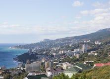 Ansicht von Jalta lizenzfreie stockfotos