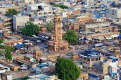 Ansicht von Jodhpur (blaue Stadt) Rajasthan, Indien Stockfoto