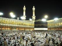 Ansicht von Kaaba Stockfotos