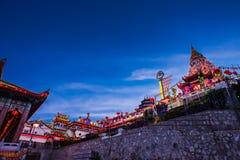 Kek Lok Si Tempel Stockbilder