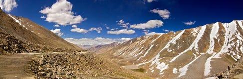 Ansicht von Khardungla, Ladakh Stockbild