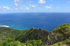 Ansicht von Koko Crater stockfoto