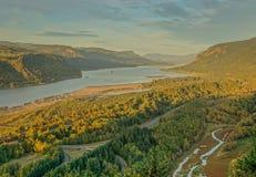 Ansicht von Kronen-Punkt-Vista-Haus lizenzfreies stockbild