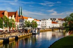 Ansicht von Lübeck, Deutschland Lizenzfreie Stockfotografie