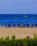 Ansicht von Las Amerika setzen in Süd-Teneriffa, Kanarische Inseln, Spanien auf den Strand Stockfotografie