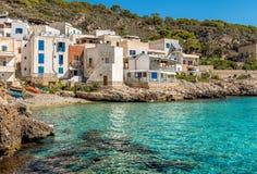 Ansicht von Levanzo-Insel, ist der drei Aegadian-Inseln im Mittelmeer von Sizilien, Italien das kleinste Lizenzfreie Stockbilder