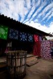 Ansicht von lijiang 4 - ein dyehouse Stockbild